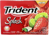 Trident Splash - Strawberry/Lime  - 10CT