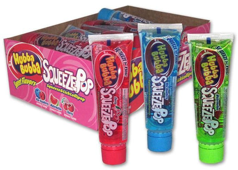 Squeeze Pop - Sour - 18CT