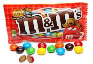 M&M's Peanut Butter - 1.63 oz - 24CT