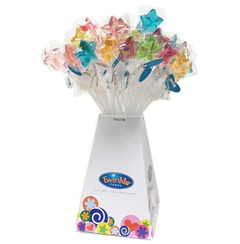 Twinkle Star Lollipops - Assorted: 120CT