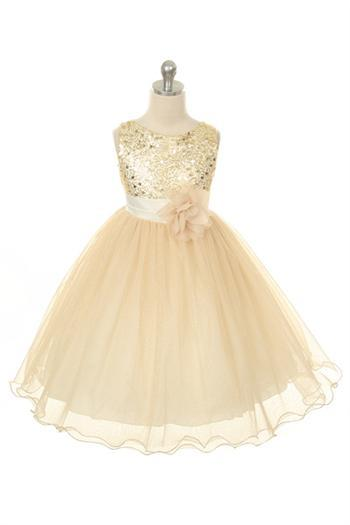 Sequin Girl Party Dress