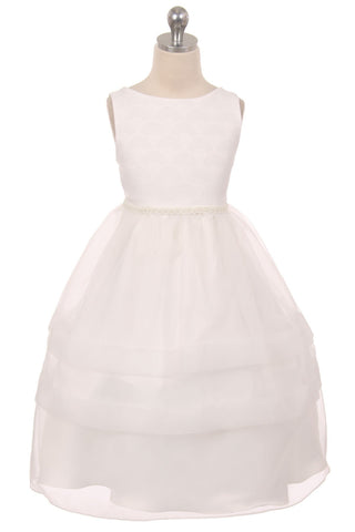 Fan Shape Design Communion Dress