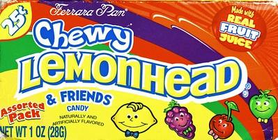 Chewy Lemonhead & Friends - 25 Cent - 24CT