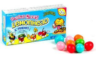 Chewy Lemonhead & Friends - Tropical - 25 Cent - 24CT