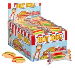 Gummi Hot Dog - 60CT