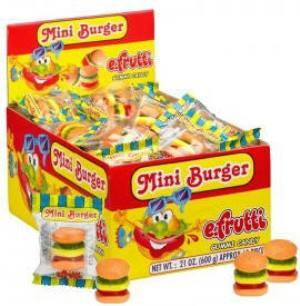Gummi Mini Burger - 60CT