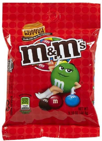 M&M's Peanut Butter - 5.1 oz - 12CT