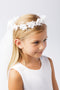 Cutie Flower Girl Crown Veil - #775