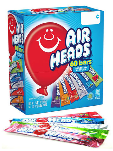 Airheads - Assorted Gravity Feed - 60CT