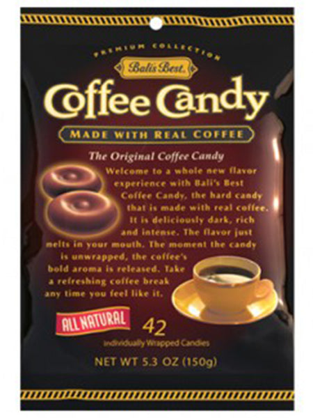 Bali's Best Coffe Candy - 5.3 - 12CT