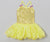 Yellow Sequin Organdy Ballet Dress