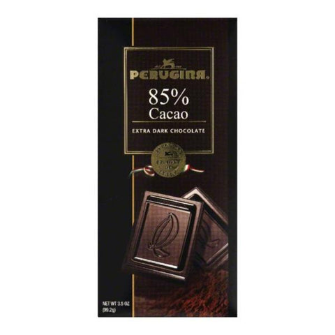 Perugina Dark Chocolate 85% Tablet - 3.5oz 12ct