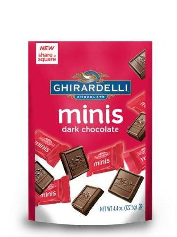 Ghirardelli Dark Chocolate Minis - 4.4oz 6ct