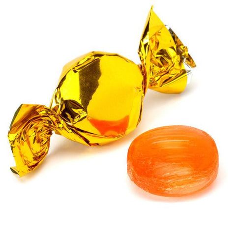 Primrose Foil Fruit Buttons Orange - 32lbs