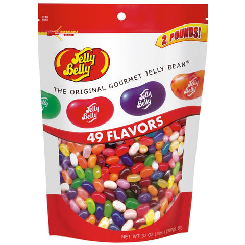 Jelly Belly Assortment Pouch Bag - 2lbs
