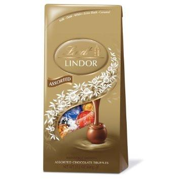 Lindt Lindor Truffle Bag Assorted - 5.1oz 12ct