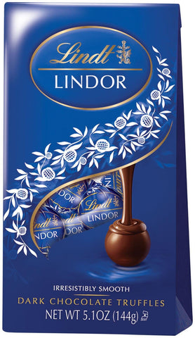 Lindt Lindor Truffle Bag Dark - 5.1oz 12ct