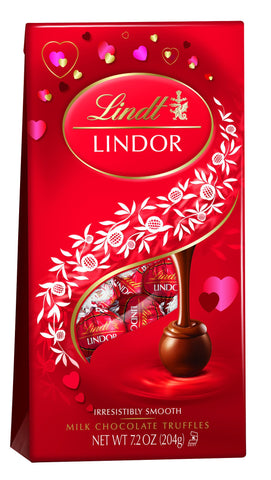 Lindt Lindor Truffle Bag Milk - 5.1oz 12ct