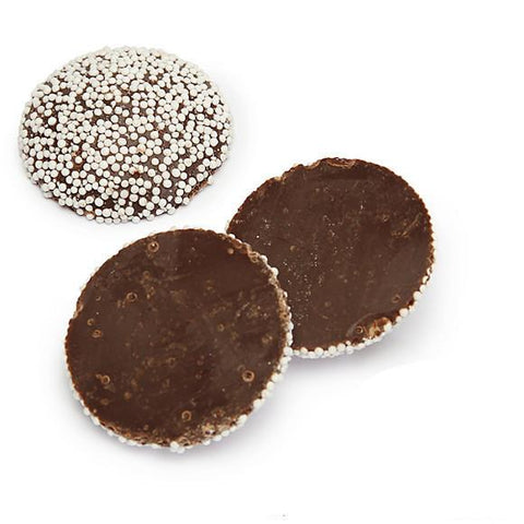 Sweetworks Nonpareils Wafer Dark Chocolate - 5lbs
