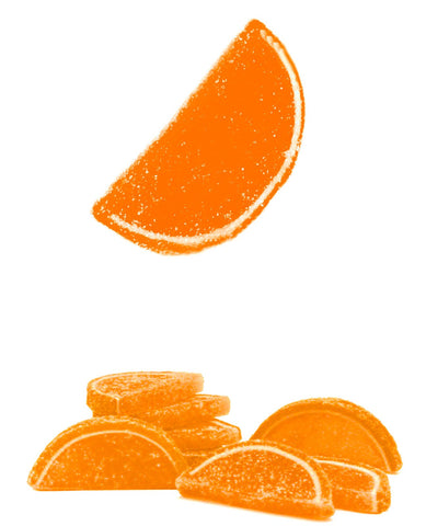 Albanese Orange Fruit Slices - 5lbs