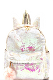 Unicorn Flip Sequin Backpack