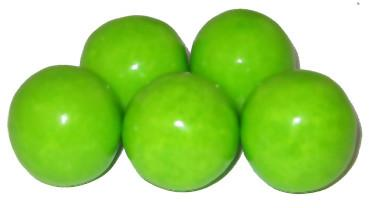 Sweetworks Sour Green Apple Gumballs - 850ct