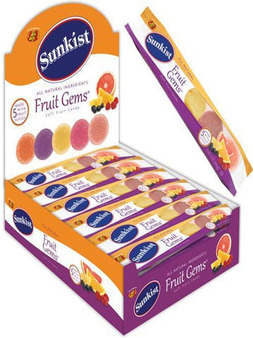 Sunkist Fruit Gems 5pc - 24ct