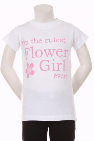Accessories- Flower Girl T-Shirt