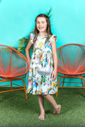 Rainbow Unicorn Girl Dress