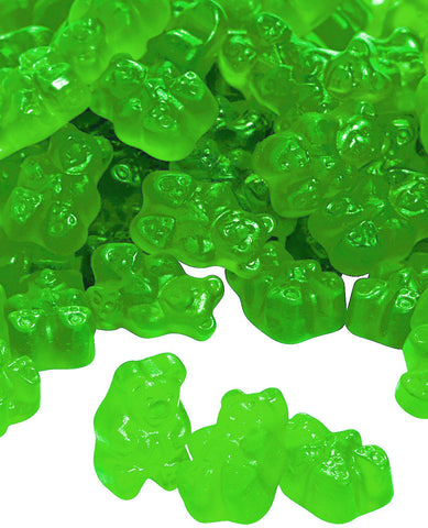 Albanese Granny Smith Apple Gummy Bears - 5lbs