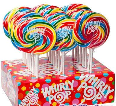Whirly Pop 1.5-Ounce - Rainbow: 24-CT