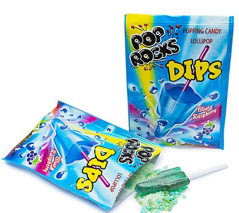 Pop Rocks Dips - Blue Raspberry - 18CT