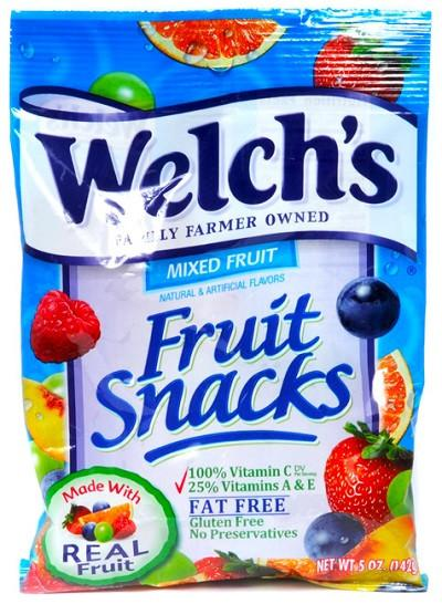 Welch's Mixed Fruit - 5 oz- 12CT