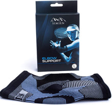 simien tennis elbow compression sleeve with box