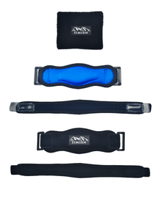 2-count straps with bonus sweatband