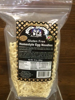 Amish Wedding GLUTEN FREE Homestyle Egg Noodles