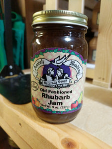 Amish Wedding 9oz Rhubarb Jam