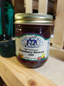 Amish Wedding 9oz Strawberry Rhubarb Jam