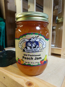 Amish Wedding 18oz Peach Jam