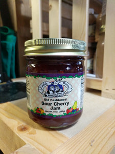 Amish Wedding 9oz Sour Cherry Jam