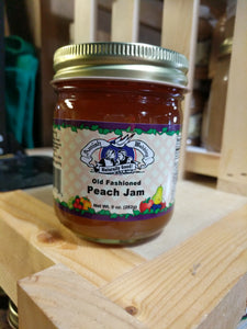Amish Wedding 9oz Peach Jam