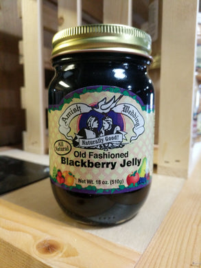 Amish Wedding 18oz Blackberry Jelly