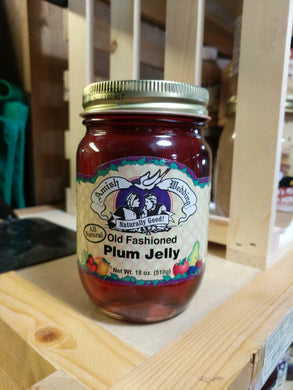Amish Wedding 18oz Plum Jelly