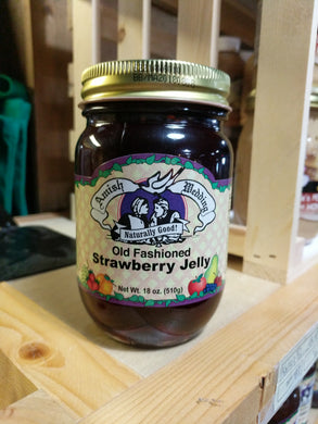 Amish Wedding 18oz Strawberry Jelly