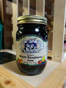Amish Wedding 18oz Seedless Black Raspberry Jam