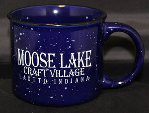 Moose Lake Village Blue 16oz. Mug