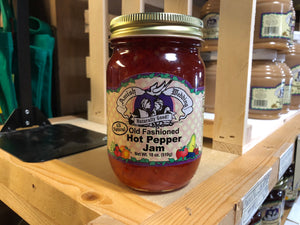 Amish Wedding 18oz Hot Pepper Jam