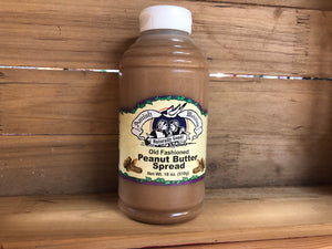 Amish Wedding Old Fashioned Peanut Butter Spread - Large