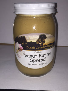 Katie's Homemade Amish Peanut Butter Spread - Large