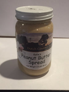 Katie's Homemade Amish Peanut Butter Spread - Small